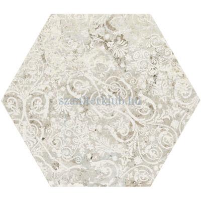 aparici carpet sand hexagon 25x29 cm