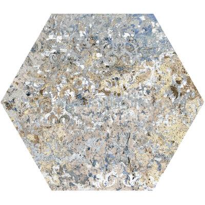 aparici carpet vestige hexagon 25x29 cm