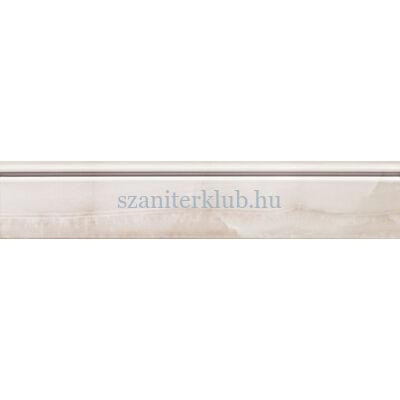arte grand Onyx white listello 59,8x11,5 cm