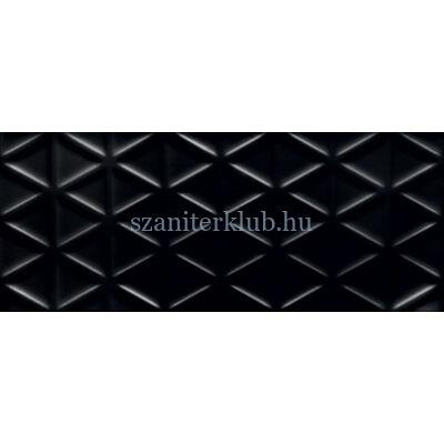 arte grand Senza geo black STR csempe 29,8x74,8 cm