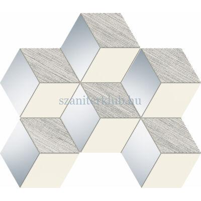 arte grand Senza grey hex mozaik 28,9x22,1 cm