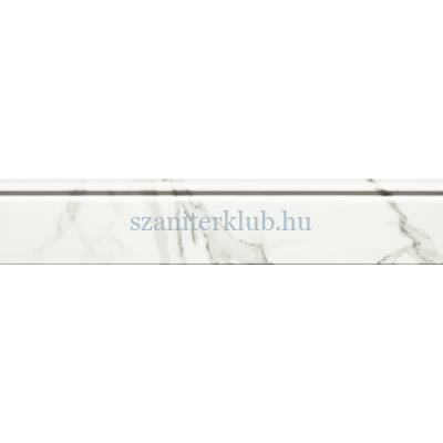 arte grand Vienna white listello 59,8x11,5 cm