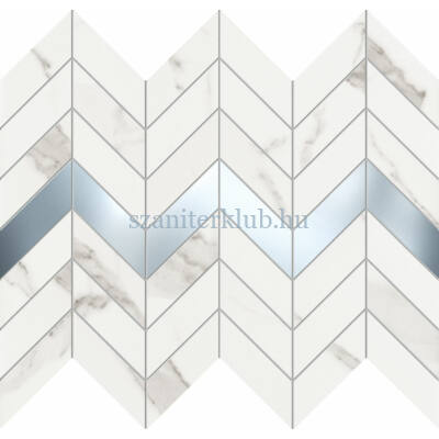 arte grand Vienna white mozaik 29,8x24,6 cm