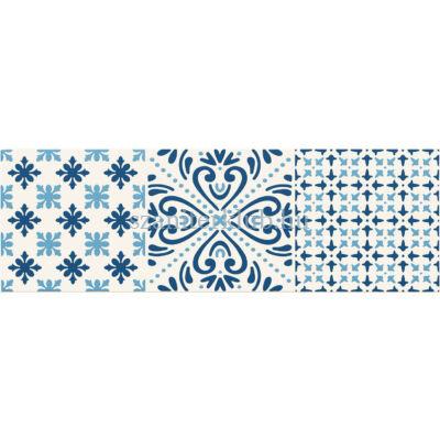 arte avignon cobalt 2 dekor 148x448 mm