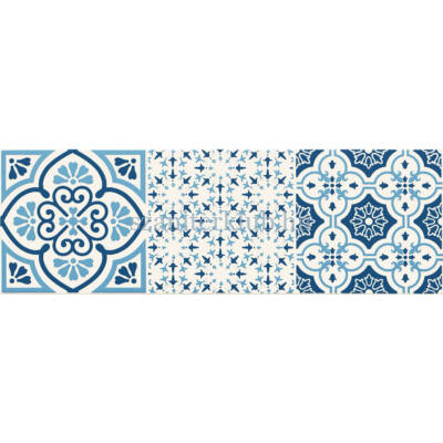 arte avignon cobalt 3 dekor 14,8x44,8 cm