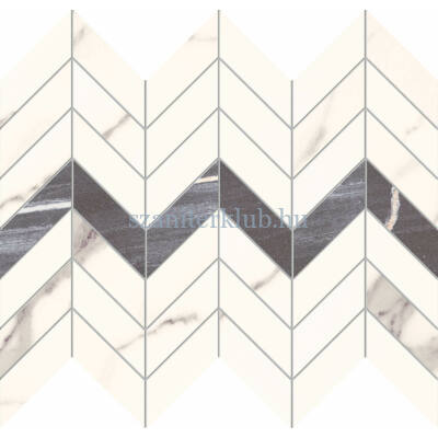 arte bonella white mozaik 29,8x24,6 cm