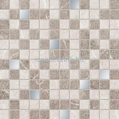 arte braid grey mosaic 298x298 mm