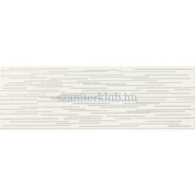 arte burano bar white D dekor 7,8x23,7 cm