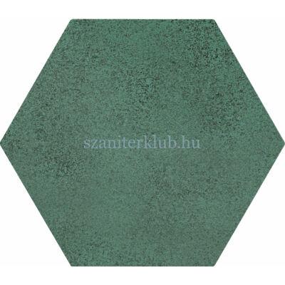 arte burano hex green csempe 11x12,5 cm