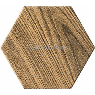 arte burano hex wood csempe 11x12,5 cm