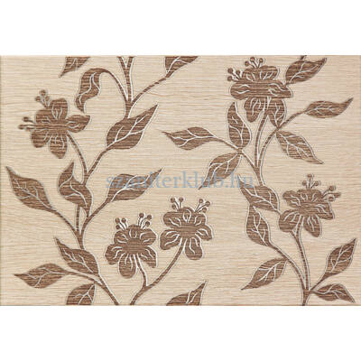 arte castanio bez virág dekor 25x36 cm