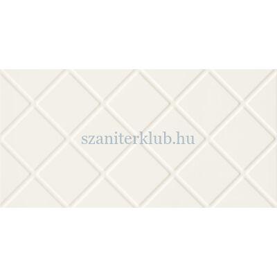 arte colori white square str csempe 29,8x59,8 cm