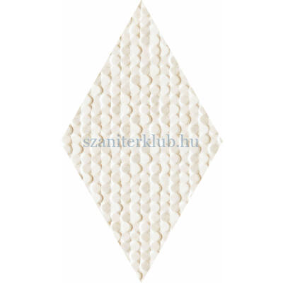 arte coralle diamond ivory csempe 2,9x11,2 cm