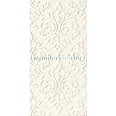 Arte delice white str dekor 22,3x44,8 cm