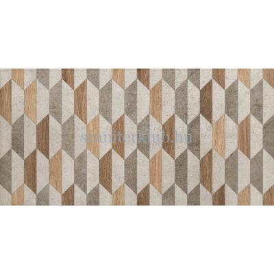 domino dover grey geo dekor 30,8x60,8 cm