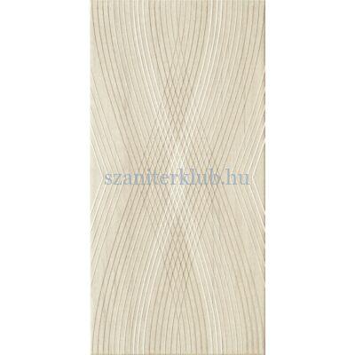 domino kervara modern beige dekor 22,3x44,8 cm