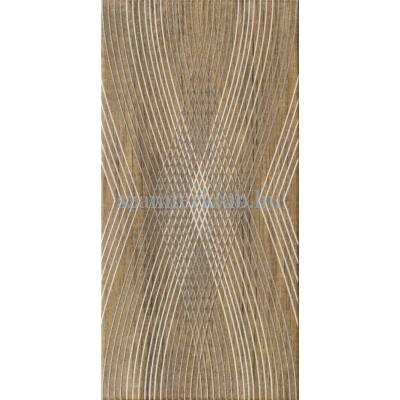 domino kervara modern brown dekor 223x448 mm