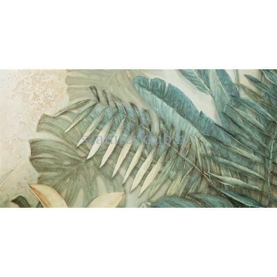 domino alabaster shine element 2 leaves A dekor 59,8x119,8 cm