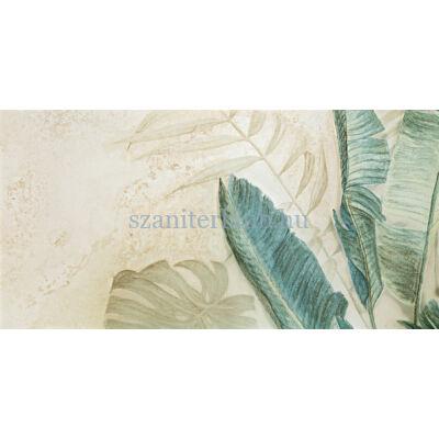 domino alabaster shine element 3 leaves A dekor 59,8x119,8 cm