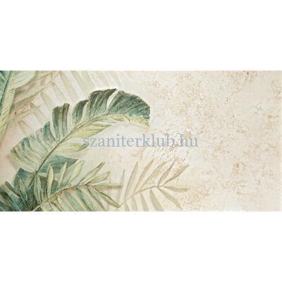 domino alabaster shine element 3 leaves B dekor 59,8x119,8 cm