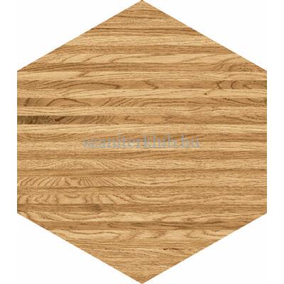 domino flare wood hex csempe 11x12,5 cm