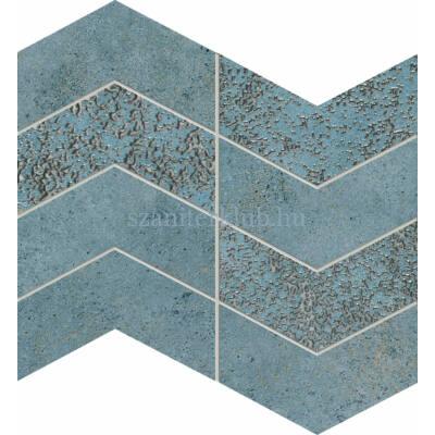 domino margot blue mozaik 25x29,8 cm