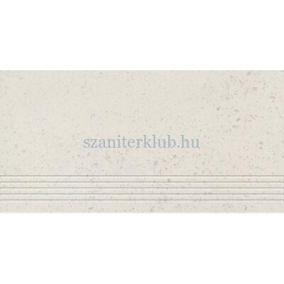 domino otis white lépcsőlap 29,8x59,8 cm