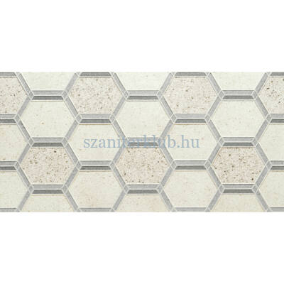 arte elba grey hex dekor 298x598 mm