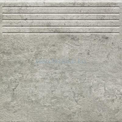 domino gris grafit str lépcsőlap 33,3x33,3 cm
