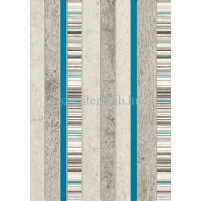 domino gris turkus dekor 250 x 360 mm