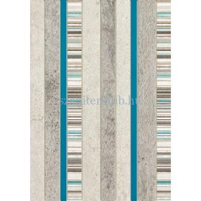 domino gris turkus dekor 25x36 cm