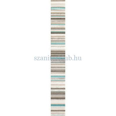domino gris turkus dekorcsík 4,5x36 cm