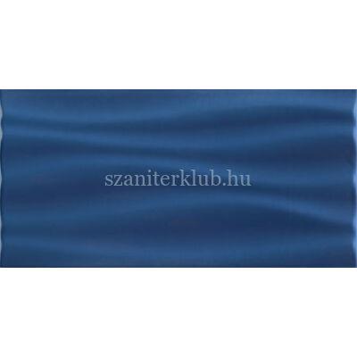 arte joy wave niebieska str csempe 448 x 223 mm