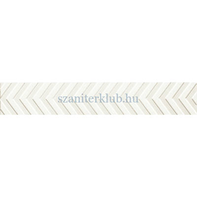arte karelia white listello 73x448 mm