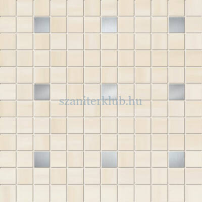 arte onde cream mosaic 298x298 mm
