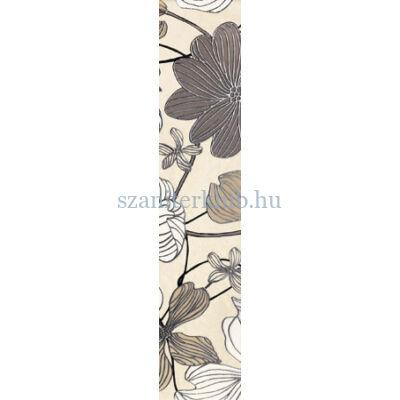 arte domino opium flower dekorcsík 74 x 360 mm