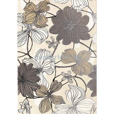 arte domino opium flower dekor 250 x 360 mm