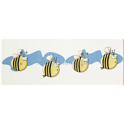 arte pastel robaczki 2 listello 7,4x20 cm