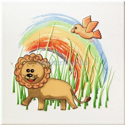 arte pastel safari 3 dekor 20x20 cm