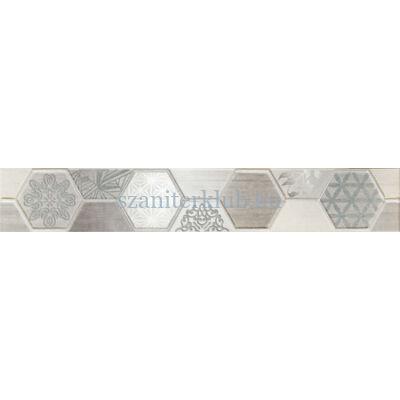 arte pinia grey listello 448 x 71 mm