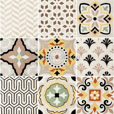 arte Prowansja patchwork 9 darabos dekor 60,8x60,8 cm