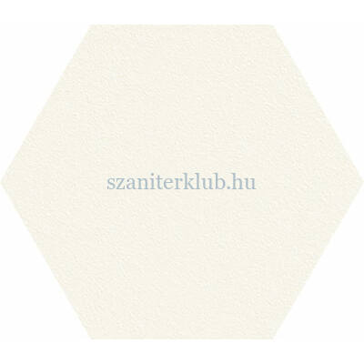 arte satini white hexagon csempe 125x110 mm