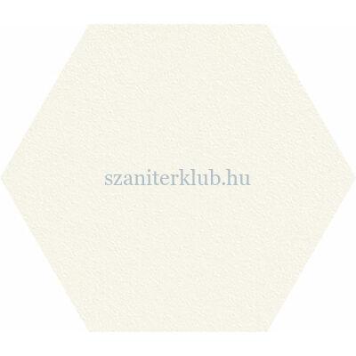 arte satini white hexagon csempe 12,5x11 cm