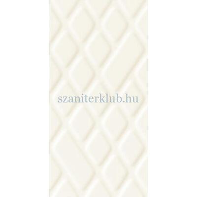 arte satini white str csempe 29,8x59,8 cm