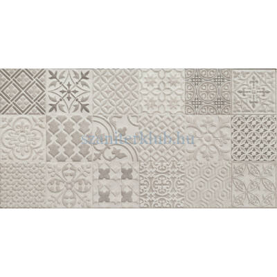 arte velvetia patch grey str csempe 30,8x60,8 cm