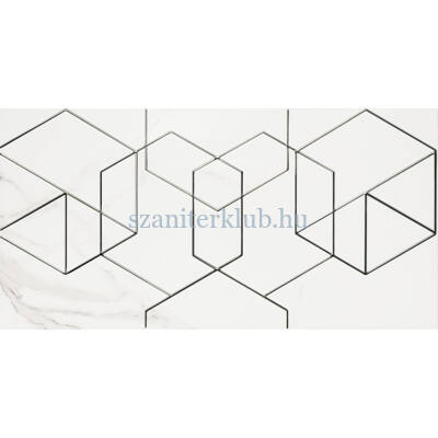arte vicenza white dekor 298x598 mm