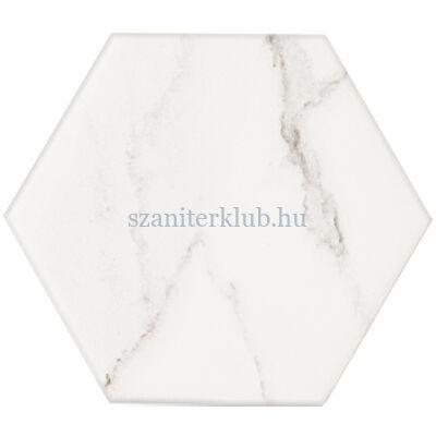 arte vicenza white hex csempe 110x125 mm