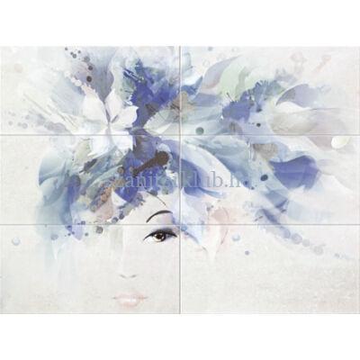 arte domino visage woman 898 x 673 mm set of 6 elements
