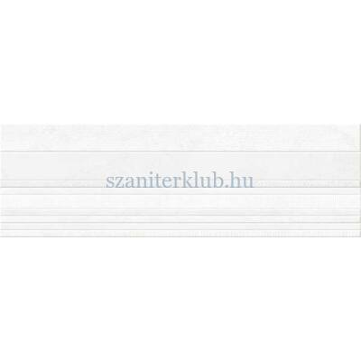 bellacasa fibre white csempe 31,5x100 cm