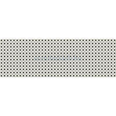 cersanit black&white pattern d csempe 19,8x59,8 cm